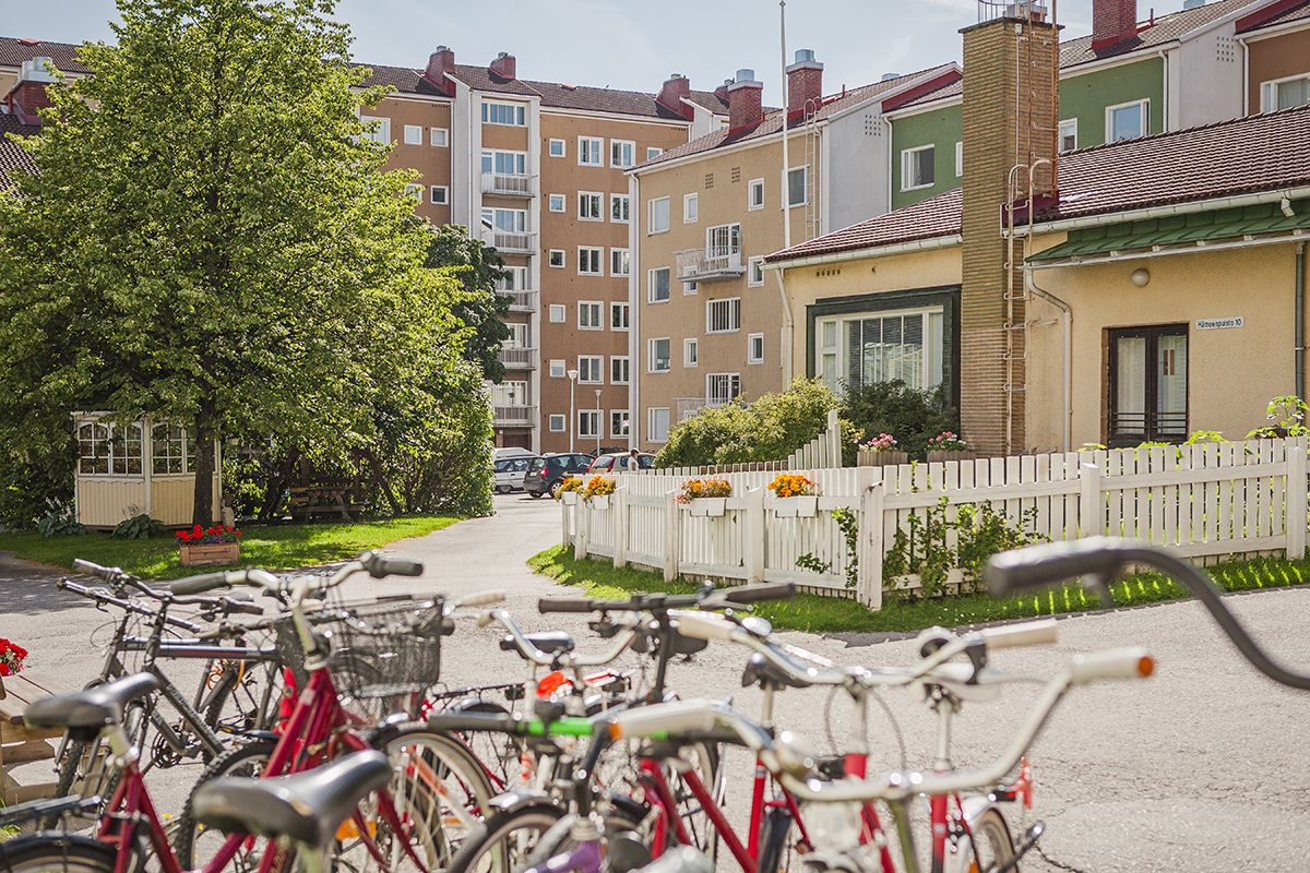 Mustanlahdenkatu Tampere