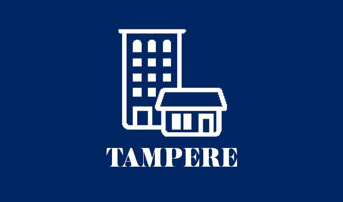 Rakenteilla kuva Lumo-uutuuskodeista Tampereella